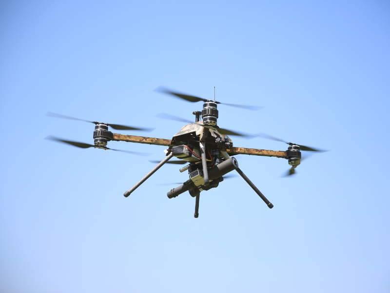 Разминирование с воздуха: новая профессия дронов