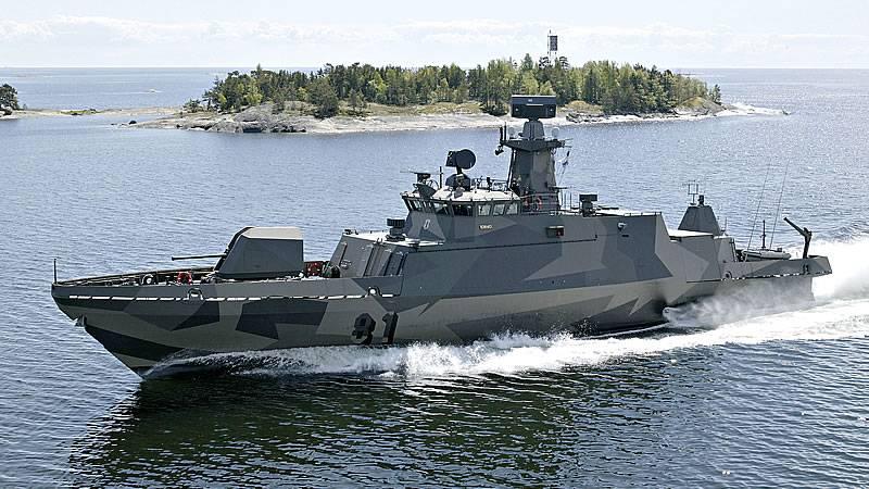 ВМС Финляндии получили первый модернизированный ракетный катер класса «Хамина»