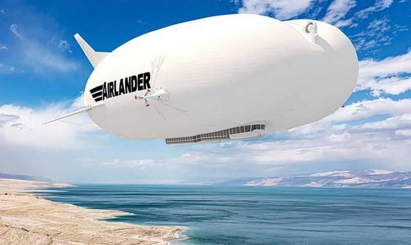 Британский дирижабль Airlander 10 готов к серийному производству