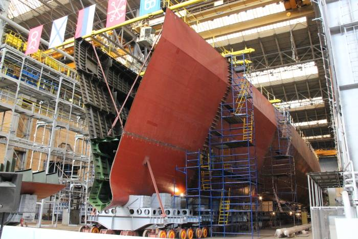 Кораблестроительная загадка 2019 года, или Когда четыре равно пяти