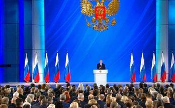 Расширение полномочий парламента: Путин предложил целый ряд изменений в Конституцию