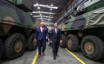 Польский президент ознакомился с новинками «панцерной» военной техники