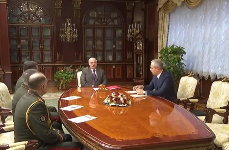 Лукашенко сменил министра обороны и других силовиков Белоруссии